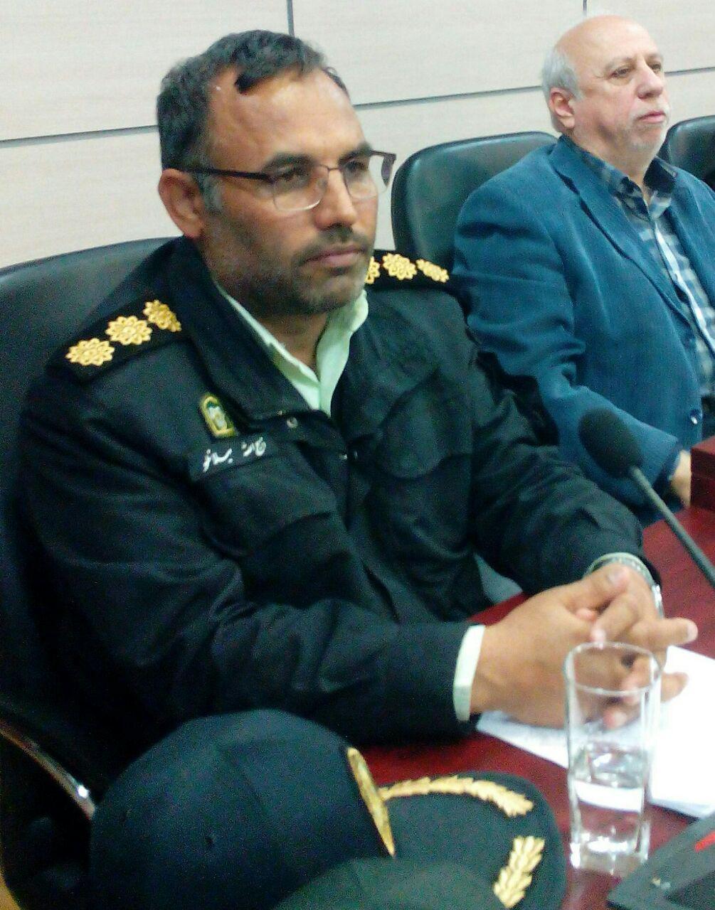 حضور پلیس انتظامی در جاده های شهرستان مشهد مقدس