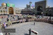تشییع پیکر مرزبان شهید محمدحسین فنایی