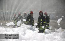 مراسم رونمایی از تجهیزات جدید آتشنشانی در مشهد