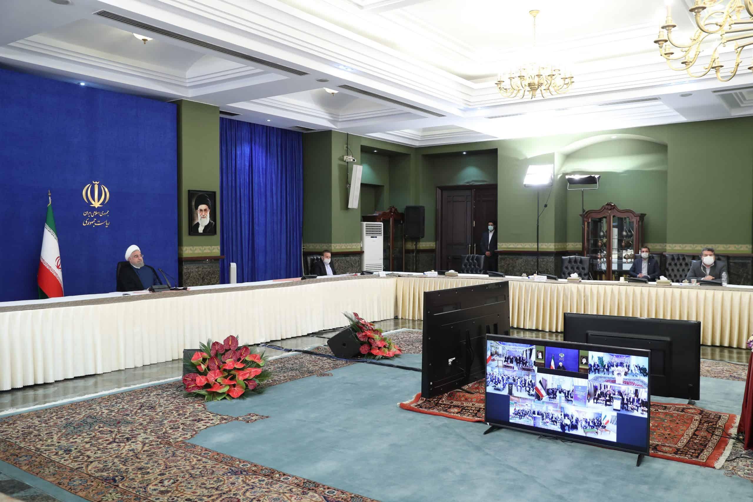 رئیس جمهور ۴۲۲ طرح را در حوزههای ورزش و جوانان و گردشگری افتتاح کرد